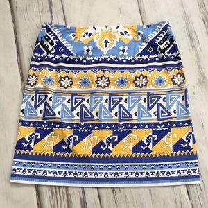 Harold's pencil straight skirt Moroccan print 14